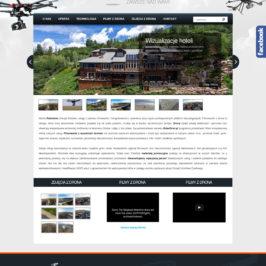 Strona internetowa firmy RoboDron