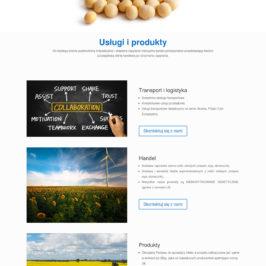 Strona internetowa firmy TRELEM